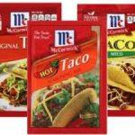 $.75/3 McCormick Dry Seasoning Mixes Coupon