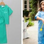 Personalized Children's Scrubs Set $21.98 Shipped