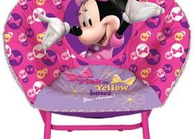 Disney Minnie Mouse Toddler Saucer Chair $15.00 (Regular $24.99)