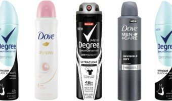 FREE Axe, Dove, OR Degree Dry Spray Deodorant