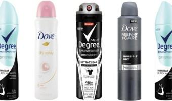 FREE Axe, Dove, OR Degree Dry Spray Deodorant