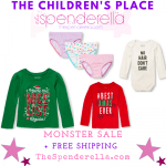 The Children's Place – A Monster Sale + Redeem Place Cash