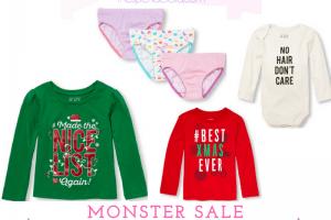The Children's Place – A Monster Sale + Redeem Place Cash