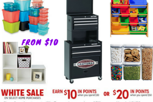 Kmart – Storage Sale with Items from $10 + Earn $20 when you Spend $50
