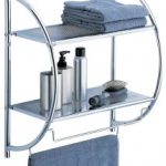 Organize It All 2-Tier Shelf with Towel Bars $11.98 (Regular $30.00)