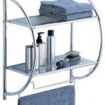 Organize It All 2-Tier Shelf with Towel Bars $11.98 (Regular $30.00)