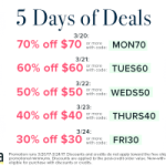 Schoola – $84 worth of Clothes for $25.20 Shipped – Today ONLY with 70% Off Promo Code