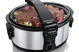 Hamilton Beach Stay or Go 6-Quart Portable Slow Cooker $24.99 (Regular $62.99)