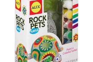 ALEX Toys Craft Rock Pets Turtle $6.91 (Regular $13.00)