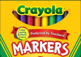 48 Packs of Crayola Classic Markers $7.32 Shipped (Just $.15 a pack)