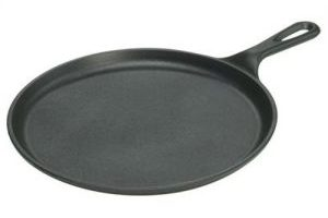 Lodge Cast Iron Pre-Seasoned 10.5 inch Round Griddle $13.38 (Regular $24.00)