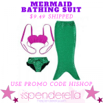Mermaid Bathing Suit $9.49 Shipped + More (Ends July 3rd)