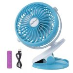 USB Rechargeable Battery Operated Clip on Mini Fan $22.99 (Regular $39.99)