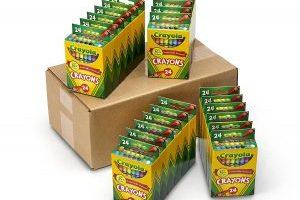 Crayola 24 Packs of 24 count Crayons $20.23 (Regular $36.99)