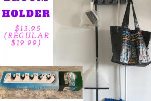 Best Broom Holder $13.95 (Regular $19.99)