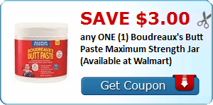 Boudreaux's Butt Paste, Bic Stationery, Scotch – Brite, DiGiorno & More Coupons