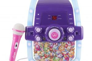 Shopkins Flashing Light Karaoke $24.00 Shipped (Regular $65.88)