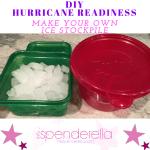 DIY: Hurricane Readiness Tip – Make Your Own Ice Stockpile