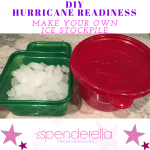 DIY: Hurricane Readiness Tip – Make Your Own Ice Stockpile