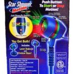 Star Shower As Seen on TV Motion Laser Lights Star Projector $24.99 (Regular $49.99)