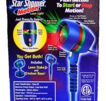 Star Shower As Seen on TV Motion Laser Lights Star Projector $24.99 (Regular $49.99)