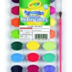 Crayola 24 Ct Washable Watercolors $1.98 (Regular $3.99)