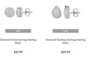 Kay Jewelers Earrings $19.99 (Regular $69.99)