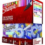 Assorted 72 Colors of Sharpie Permanent Markers Ultimate Collection $26.99 (Regular $49.99)