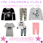 The Children's Place – Clearance Up to 75% Off with items from $1.99