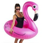 HUGE Pink Flamingo Pool inflatable Float $7.51 (Regular $15.99)
