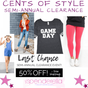 Cents of Style - Semi Annual Clearance Sale Promo Code