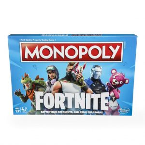 Monopoly Fortnite Special Edition Board Game $7.00 (Regular $19.99)