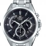 Casio Men's Edifice Silver Quartz Watch with Stainless-Steel Strap $49.99 (Regular $200)
