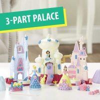 Play-Doh Sparkle Kingdom 3-in-1 Disney Princess Toy Castle $11.99 (Regular $21.99)