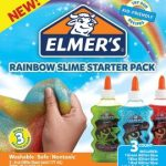 Elmer's Rainbow Slime Starter Kit with 3Glitter Glue $4.99 (Regular $13.99)