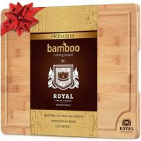 Organic Bamboo Cutting Board $12.97 - Highly Rated & Gift Idea!