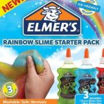 Elmer's Rainbow Slime Starter Kit with 3 Glitter Glue $4.99 (Regular $13.99)