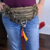 LQ ARMY Tactical Parachute Waist Pack $15.00 Shipped