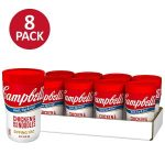 Pack of 8 Campbell's Soup on the Go, Chicken & Mini Round Noodles $.71 each