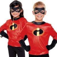 The Incredibles 2  Dress up Set -Shirt, Gloves & Eye Mask $2.99 (Regular $14.99)