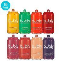 bubly Sparkling Water 18 Pack Sampler for $5.61 = $.31 per can (Regular $10.99)