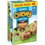 Quaker Chewy Granola Bars 18 Bars = $2.97