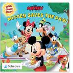 Disney Mickey Saves the Day! Paperback book $0.98 (Regular $5.98)