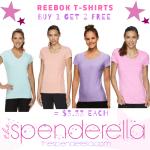 Reebok T-Shirts Buy 1 Get 2 Free = $3.33 each