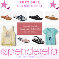 Roxy Memorial Day Sale - Sandals as low as $6.29, Backpacks $11.19 + FREE Shipping