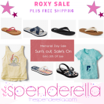 Roxy Memorial Day Sale – Sandals as low as $6.29, Backpacks $11.19 + FREE Shipping