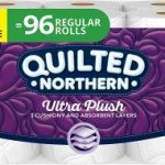 Quilted Northern Ultra Plush Toilet Paper 48 Double Rolls $33.49 Shipped
