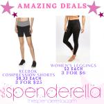 Amazing Deals – Reebok Shorts 3 for $25 & Women's Leggings 3 for $6