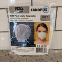 Canopus Group's FDA-registered non-medical N95 Mask 2 Pack Available!