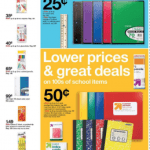 School Supplies from $0.35 including brands like Crayola, Elmer's, Bic